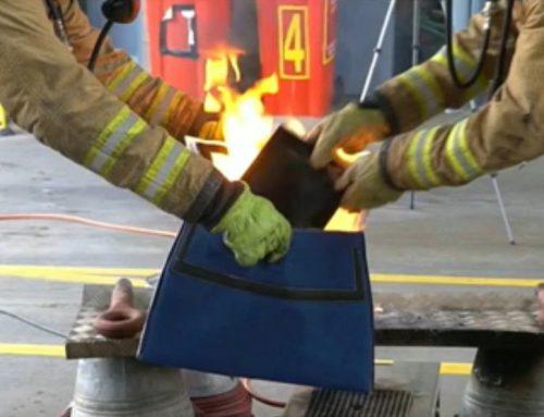 Das PED Containment Bag für Brandschutz im Flugzeug